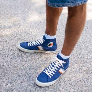 NWT Converse Player LT HI Navy Mens Shoes